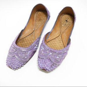 Di Kazu. Indian style slip ons Size 10